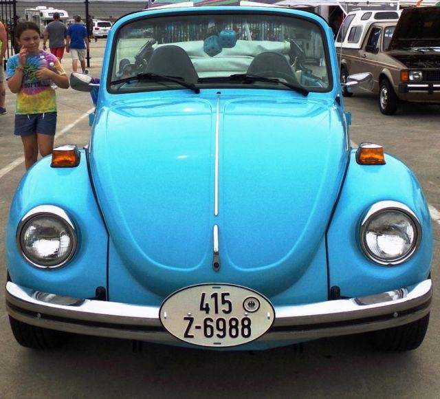 Cheap Used Volkswagen Beetle Convertible For Sale: VW Bug Super Beetle Convertible 85K Miles W/ Svc Records