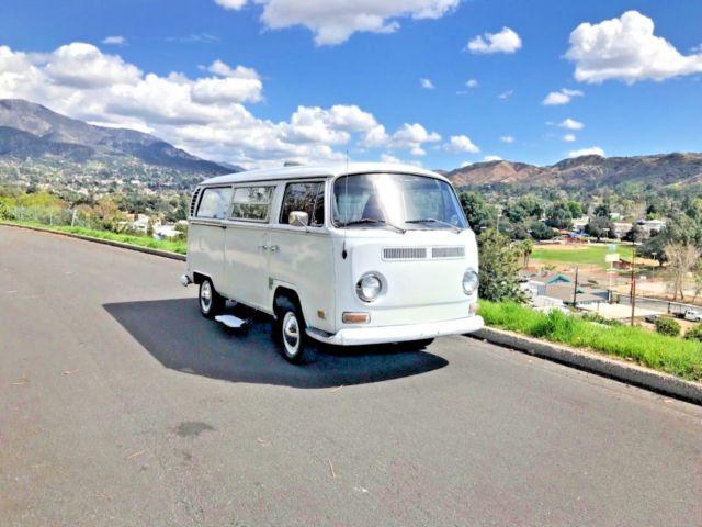 Vw Bus All Original Tintop Camper 1 Owner For Sale