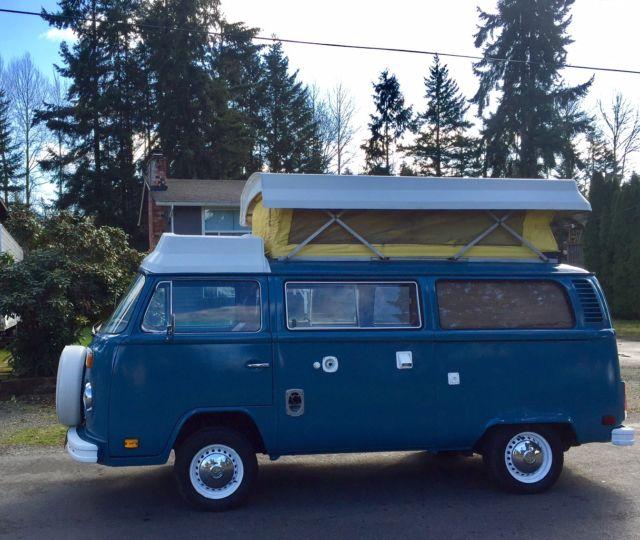 vw camper bus westfalia kombi van riviera for sale volkswagen bus vanagon 1978 for sale in. Black Bedroom Furniture Sets. Home Design Ideas