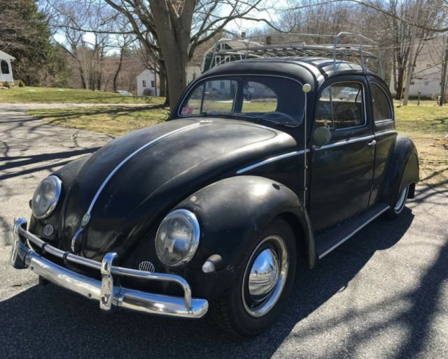 vw classic bug 1956 oval for sale volkswagen beetle classic 1956 for sale in perth amboy. Black Bedroom Furniture Sets. Home Design Ideas