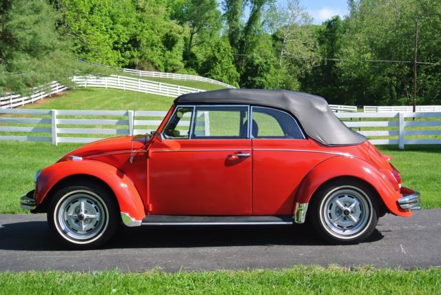 vw convertible ready for summer fun for sale volkswagen beetle classic 1968 for sale in. Black Bedroom Furniture Sets. Home Design Ideas