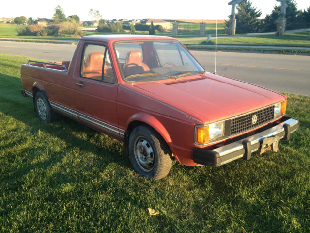 VW RABBIT TRUCK VOLKSWAGEN CADDY PICKUP For Sale