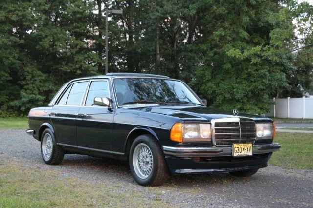 W123 280E MERCEDES BENZ EURO 1982 BBS AMG W126 W111 W110 GRAY MARKET