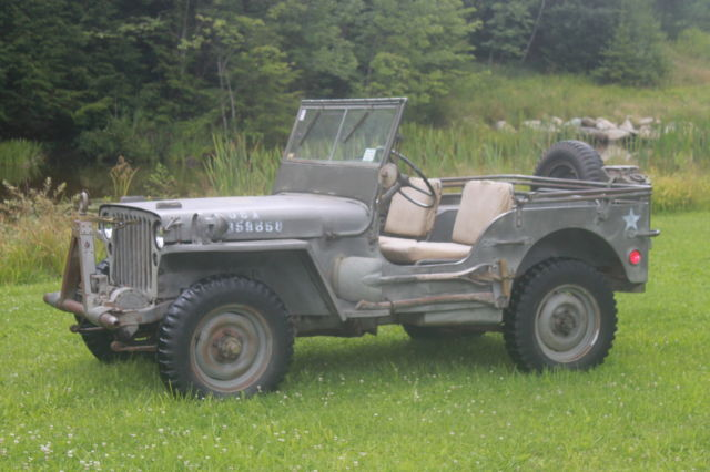 Used Cars For Sale Germany Military: Willys MB / Ford Gpw / WWII Military Army Jeep From