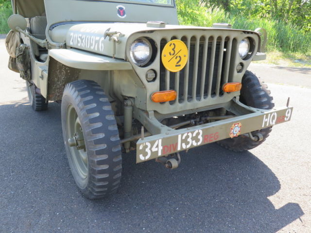 WWII Army Military GPW Jeep Surplus for sale - Ford Jeep