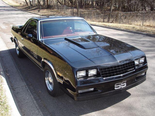 X 1984 El Camino Choo Choo For Sale Chevrolet El Camino
