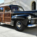 1940 Ford Deluxe Coupe Frame off restoration columbia rear